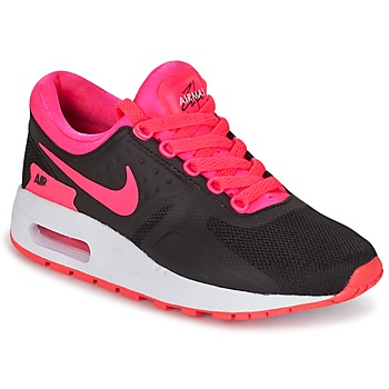 Schoenen Meisjes Lage sneakers Nike AIR MAX ZERO ESSENTIAL GRADE SCHOOL Zwart / Roze