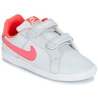 Schoenen Meisjes Lage sneakers Nike COURT ROYALE TODDLER Grijs / Roze