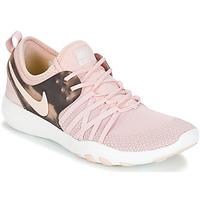 Schoenen Dames Fitness Nike FREE TRAINER 7 AMP W Roze