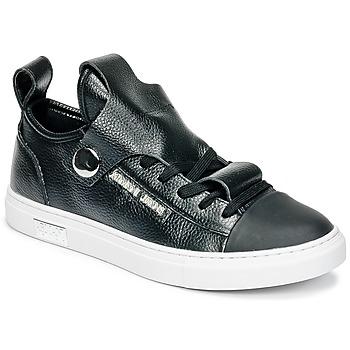 Schoenen Dames Lage sneakers Armani jeans RATONE Zwart