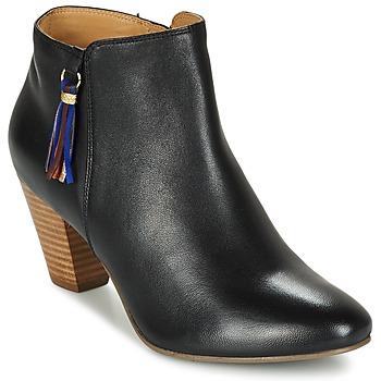 Schoenen Dames Enkellaarzen Bocage MARILYN Zwart