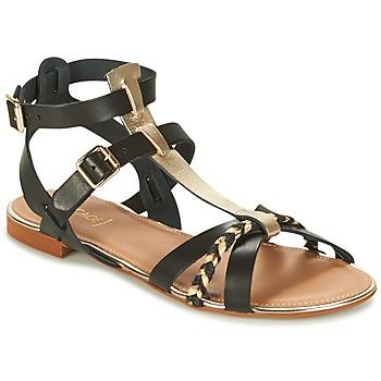 Schoenen Dames Sandalen / Open schoenen Bocage JARET Zwart / Goud