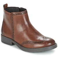 Schoenen Meisjes Laarzen Geox J SOFIA F Brown