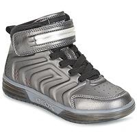 Schoenen Jongens Hoge sneakers Geox J ARGONAT B. B Zwart