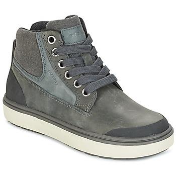 Schoenen Jongens Hoge sneakers Geox J MATT.B ABX C Grijs