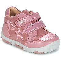 Schoenen Meisjes Lage sneakers Geox B N.BALU' G. C Roze