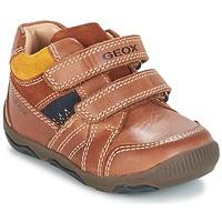 Schoenen Jongens Lage sneakers Geox B N.BALU' B. B Brown