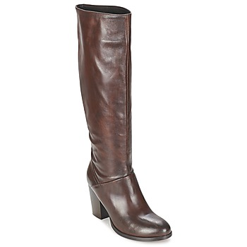 Schoenen Dames Hoge laarzen Betty London MIRIDIA Brown