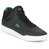 Schoenen Heren Hoge sneakers Lacoste EXPLORATEUR SPT MID Zwart / Groen