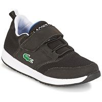 Schoenen Jongens Lage sneakers Lacoste L.IGHT Zwart / Grijs