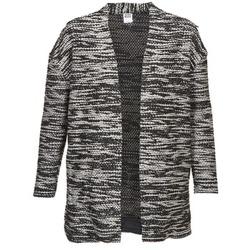 Textiel Dames Vesten / Cardigans Vero Moda NELLA Zwart / Grijs / Chiné