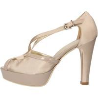 Schoenen Dames Sandalen / Open schoenen Sergio Cimadamore sandali beige raso vernice AF482 Beige