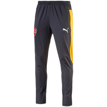 Textiel Heren T-shirts korte mouwen Puma AFC Training Pant tapered zwart