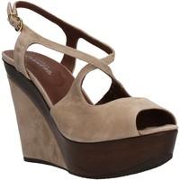 Schoenen Dames Sandalen / Open schoenen Carmens Padova AF500 Beige