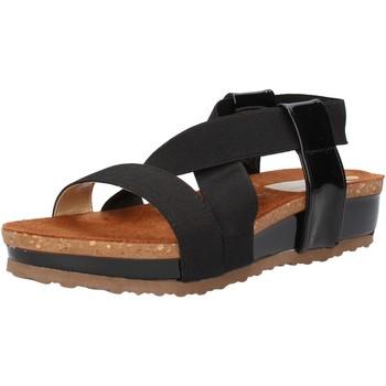 Schoenen Dames Sandalen / Open schoenen Olga Rubini Sandales AF792 Noir