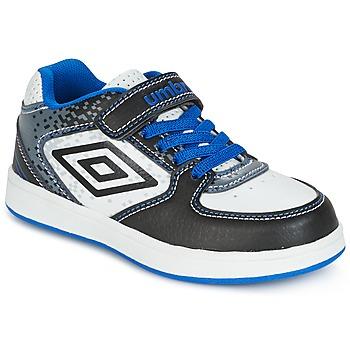 Schoenen Jongens Lage sneakers Umbro DOGAN VLC Wit / Blauw