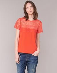 Textiel Dames Tops / Blousjes Moony Mood GERDUS Orange