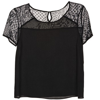 Textiel Dames Tops / Blousjes Kookaï WENDY Zwart