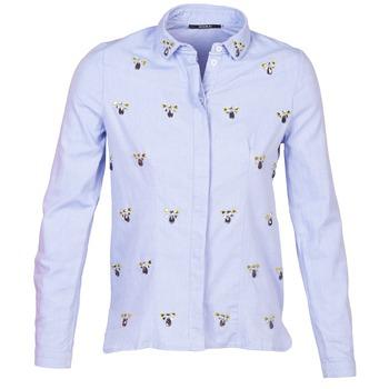 Textiel Dames Overhemden Kookaï MAYA Blauw