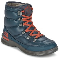Schoenen Dames Snowboots The North Face THERMOBALL LACE II W Blauw