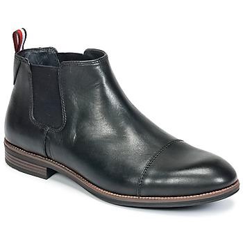 Schoenen Heren Laarzen Tommy Hilfiger TOMMY COLTON 11A Zwart