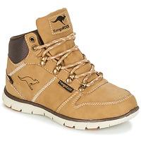 Schoenen Jongens Laarzen Kangaroos BLUERUN 2098 Honing