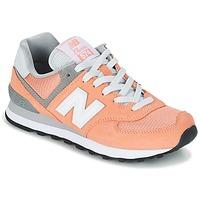 Schoenen Dames Lage sneakers New Balance WL574 Peche