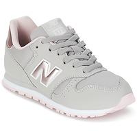Schoenen Meisjes Lage sneakers New Balance KJ374 Grijs / Roze