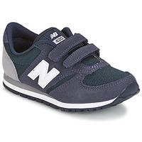 Schoenen Kinderen Lage sneakers New Balance KE421 Marine / Grijs