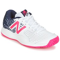 Schoenen Dames Tennis New Balance WC697 Wit