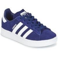 Schoenen Jongens Lage sneakers adidas Originals CAMPUS C Marine