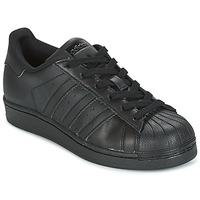 Schoenen Kinderen Lage sneakers adidas Originals SUPERSTAR Zwart