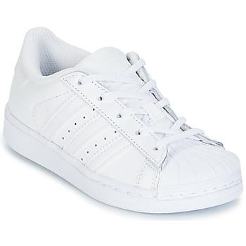 Schoenen Meisjes Lage sneakers adidas Originals SUPERTSAR Wit