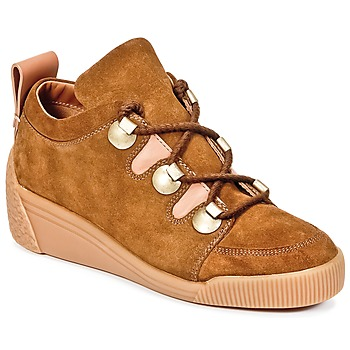 Schoenen Dames Lage sneakers See by Chloé FLAVI Brown