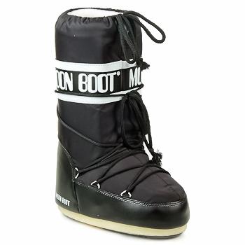 Schoenen Dames Snowboots Moon Boot MOON BOOT NYLON Zwart