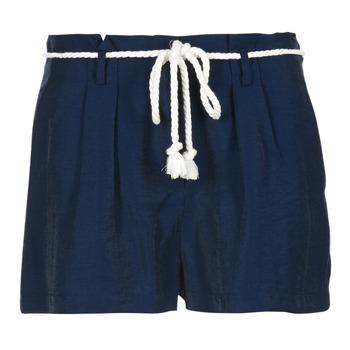 Textiel Dames Korte broeken / Bermuda's Casual Attitude IGRETTE Marine