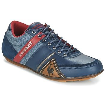 Schoenen Heren Lage sneakers Le Coq Sportif ANDELOT S LEA/2TONES Blauw / Rood