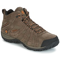 Schoenen Heren Wandelschoenen Columbia REDMOND MID LEATHER OMNI-TECH TAUPE