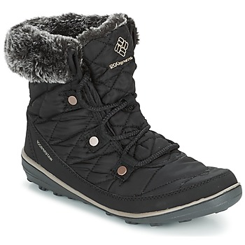 Schoenen Dames Snowboots Columbia HEAVENLY SHORTY OMNI-HEAT Zwart