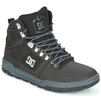 Schoenen Heren Hoge sneakers DC Shoes SPARTAN HIGH WR Zwart / Grijs