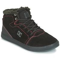 Schoenen Kinderen Hoge sneakers DC Shoes CRISIS HIGH WNT Zwart / Rood / Wit