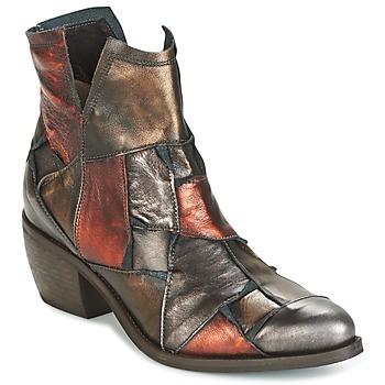 Schoenen Dames Laarzen Dkode JOELLE-MULTICOLORE-029 Brown