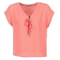 Textiel Dames Tops / Blousjes Betty London GREM CORAIL