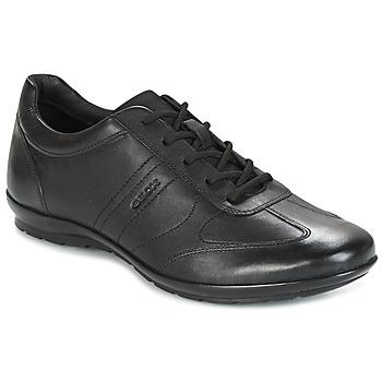 Schoenen Heren Lage sneakers Geox UOMO SYMBOL Zwart