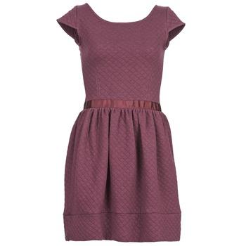 Textiel Dames Korte jurken Naf Naf OHORTENSE Violet