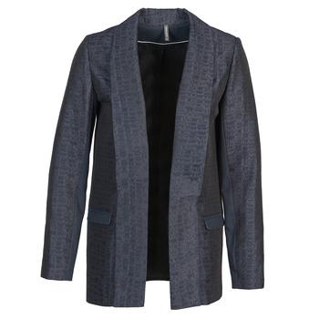 Textiel Dames Jasjes / Blazers Naf Naf ELYO Marine