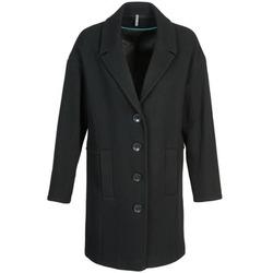 Textiel Dames Mantel jassen Naf Naf ALEX Zwart