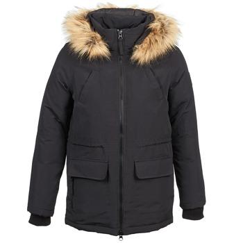 Textiel Dames Parka jassen Naf Naf BHLIPE Zwart