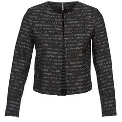 Textiel Dames Jasjes / Blazers Naf Naf LYMINIE Grijs / Zwart