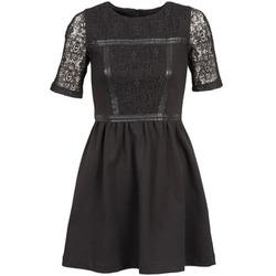 Textiel Dames Korte jurken Naf Naf OBISE Zwart